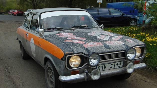 Rallye Praha Revival v Chabařovicích