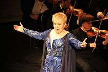 Proslulá pěvkyně Eva Urbanová se představí jako Libuše na hradě Střekov.