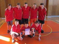 Basketbalisté z Vinařské.