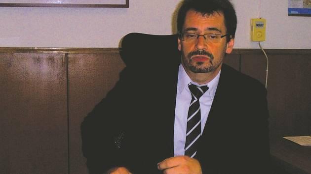 Předseda krajského soudu Luboš Dörfl.