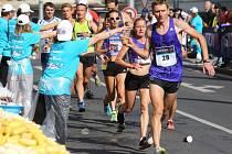 Pátý ročník ústeckého půlmaratonu.