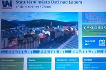Nové webové stránky spustilo město Ústí nad Labem.