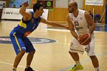 Basketbalové derby Děčín - Ústí.