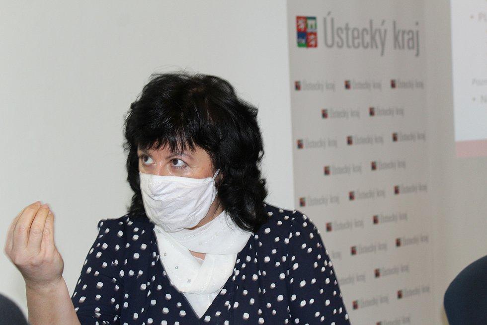 Dana Vaculíková, hlavní hygienička Krajské zdravotní.