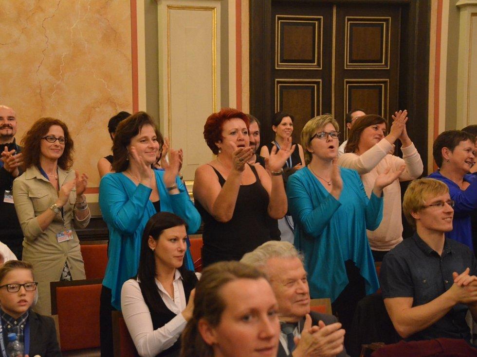 22. ročník Mezinárodního festivalu sborového zpěvu v Ústí.