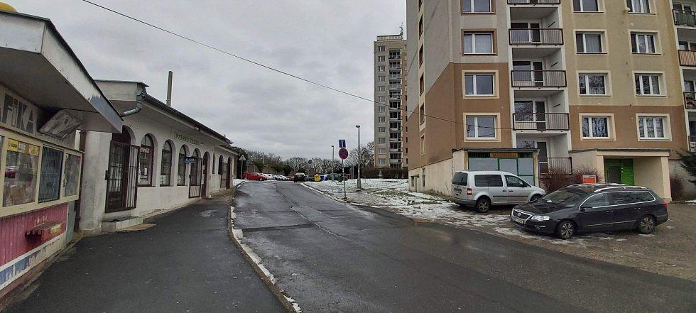 Obvod Střekov v Ústí nad Labem. Sídliště Kamenný vrch