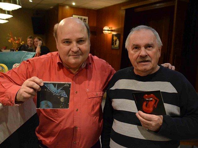 Ivan Dostál (vlevo) a Miroslav Hašek.
