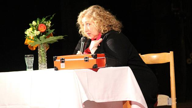 Halina Pawlowská v Ústí nad Labem