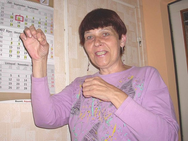 """Ústečanka Miloslava Vlčková: """"Takhle jsem toho pavouka držela...!"""""""