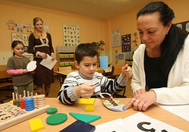 Základní škola Hlavní v Mojžíři hostila v sobotu budoucí prvňáčky.