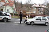 Opilá řidička chtěla ujet hlídce městské policie.
