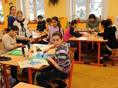 Základní škola v Trmicích.