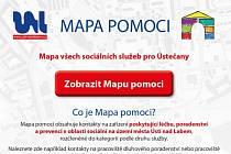 Mapa pomoci Ústí nad Labem byla nově rozšířena o seznam testovacích a očkovacích míst.