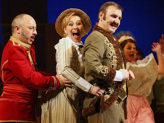 Premiéru slavné Kálmánovy operety Hraběnka Marica uvede Severočeské divadlo opery a baletu v pátek.