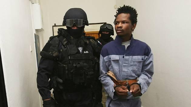 Abdallah Ibrahim Diallo u soudu v Ústí nad Labem
