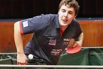 Michael Fiklík, stolní tenisté Ústí n. L., ilustrační foto.