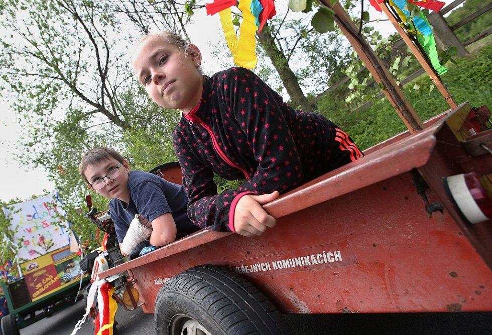 Tradiční retro první máj v Rýdeči na Ústecku