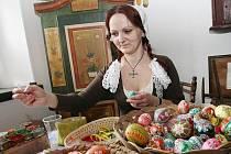 Velikonoční jarmark v Zubrnicích na Ústecku