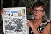 Byla při tom: Helena Vondráková.