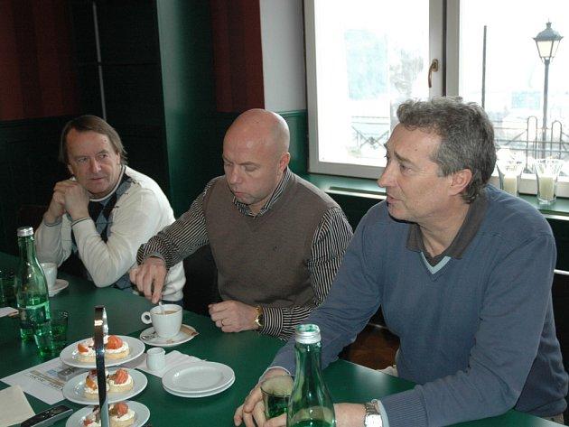 Tisková konference FK Ústí.