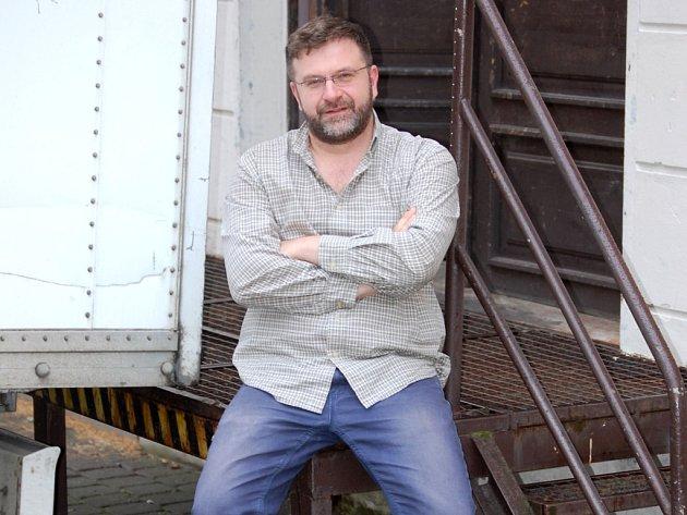 Ředitel Jiří Trnka vede Městské divadlo Děčín od 1. července 2010.