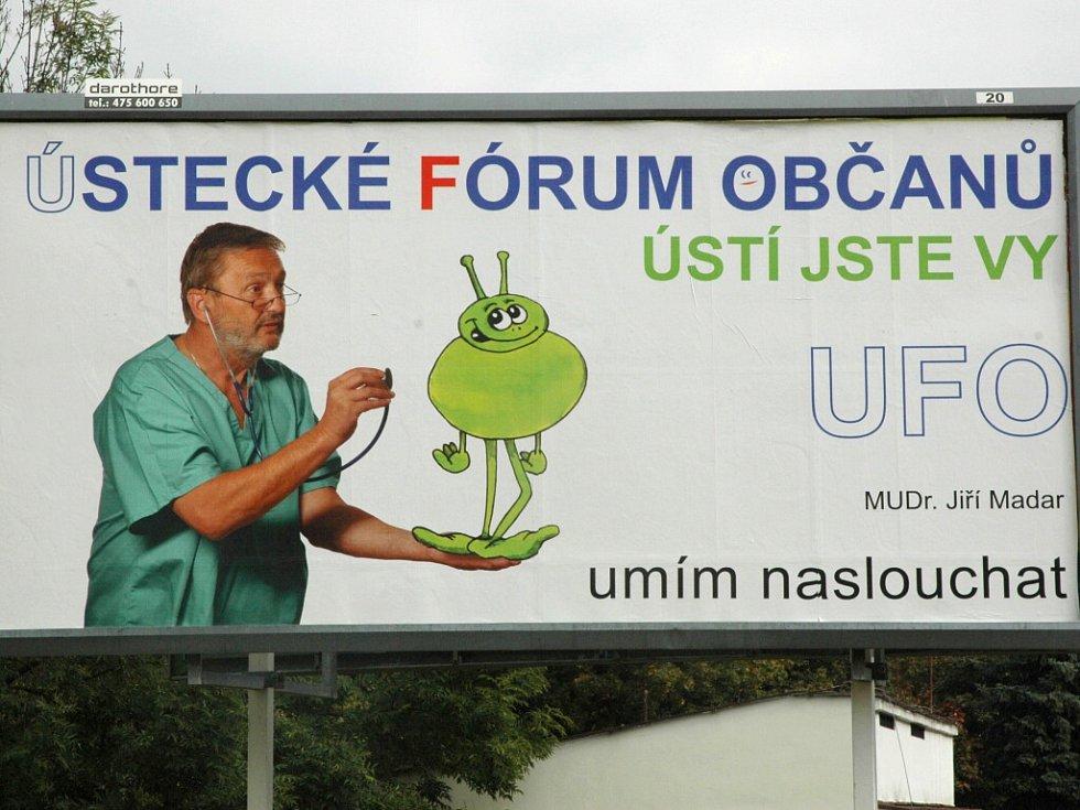 Ortoped Jiří Madar často používá fonendoskop.