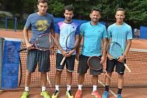 Tenisový turnaj na Bukově.