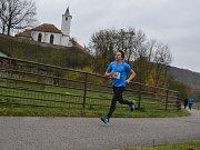 Na cyklostezce se v sobotu běžel maraton a půlmaraton.