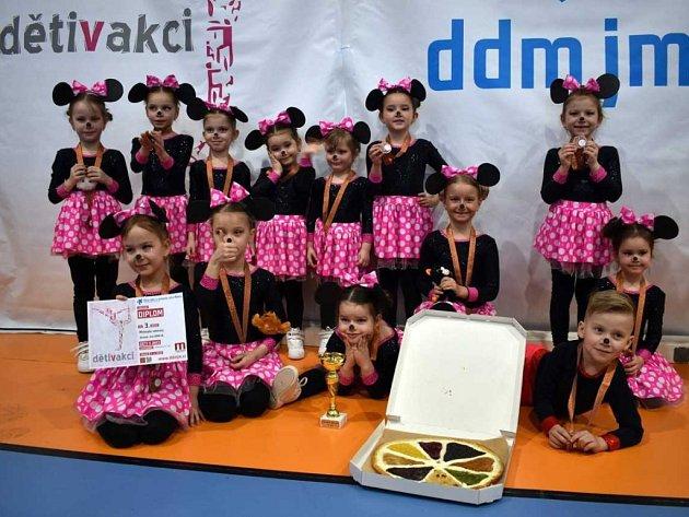 V sobotu 7. 4. 2018 se všechny týmy Aerobic clubu DDM zúčastnily soutěže Děti v akci v Praze.