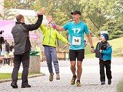 Běh kampusem ústecké univerzity přilákal v sobotu desítky závodníků.