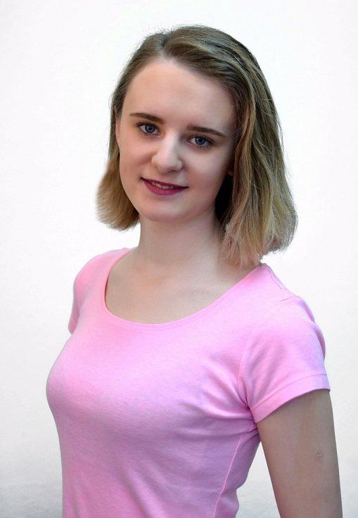 4. Eliška Mašková, 16 let, Most