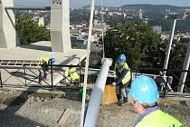 Lanovka na větruši stála už 48 milionů korun.