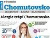 Nový Týdeník Chomutovsko: Vše o alergiích a také o srazu veteránů v Chomutově