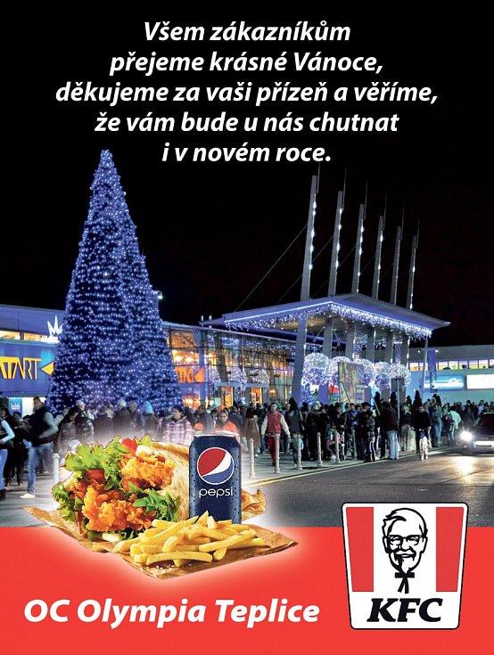 KFC, OC Olympia Teplice