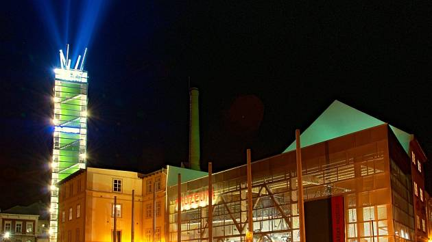 Chrám Chmele a Piva v Žatci, v němž sídlí Destinační agentura Dolní Poohří.