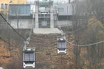 Lanovka vedená z Fora na Větruši sveze své první cestující už 7. prosince.