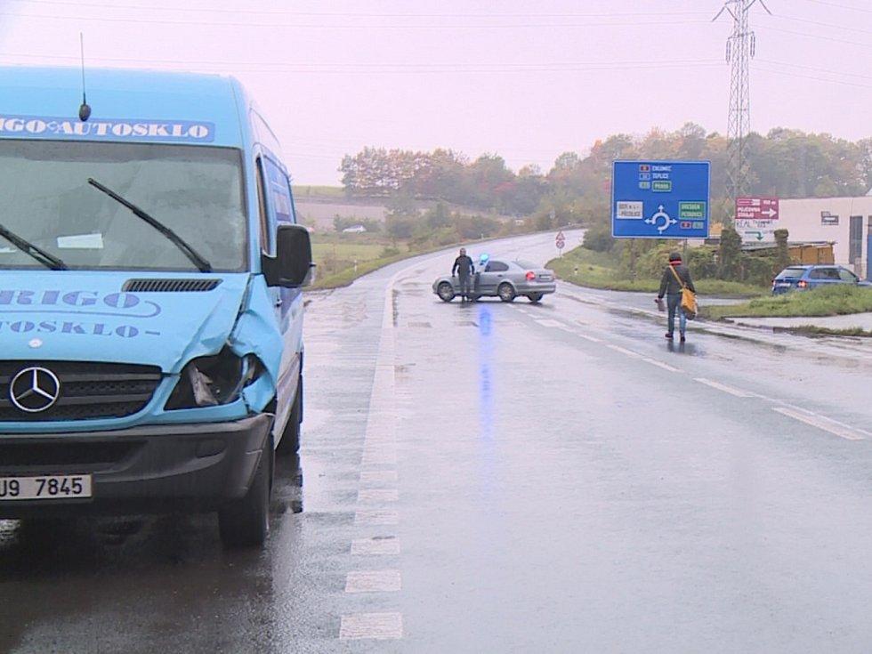 """Tragická dopravní nehoda """"Na Úžíne""""."""