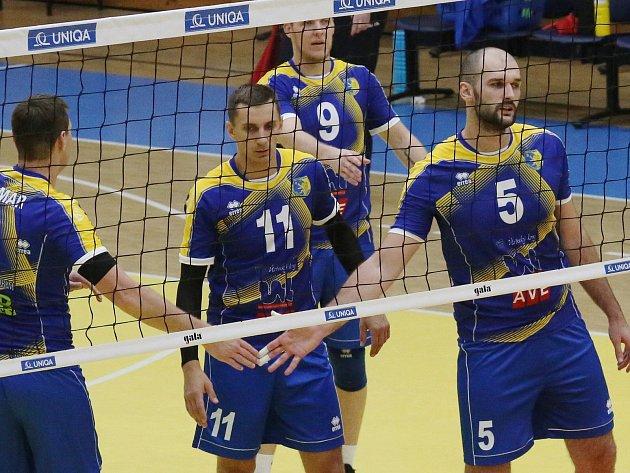Volejbalisté Ústí, ilustrační foto.