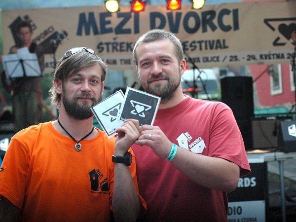Festival Mezi dvorci na Střekově vÚstí.