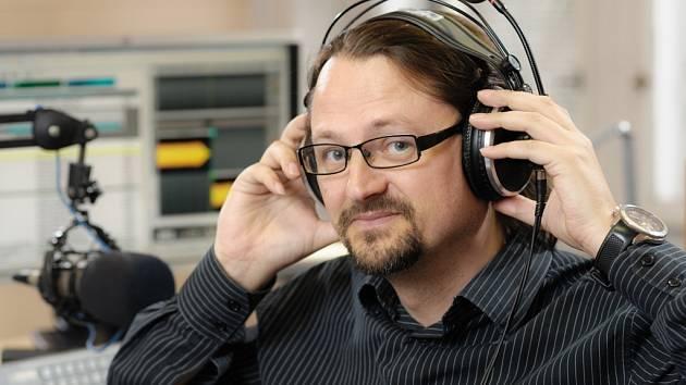 Milan Král zasedl za mikrofon Českého rozhlasu Sever poprvé před třemi lety.
