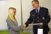 Za pomoc při záchraně života poděkoval Daně policejní šéf Vladimír Danyluk.