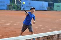 Jedenáctiletý Michal Patyk tvrdě trénuje, v žebříčku by se chtěl umístit na 125. pozici.