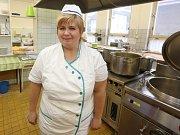 Šéfkuchař z Větruše vařil školákům.