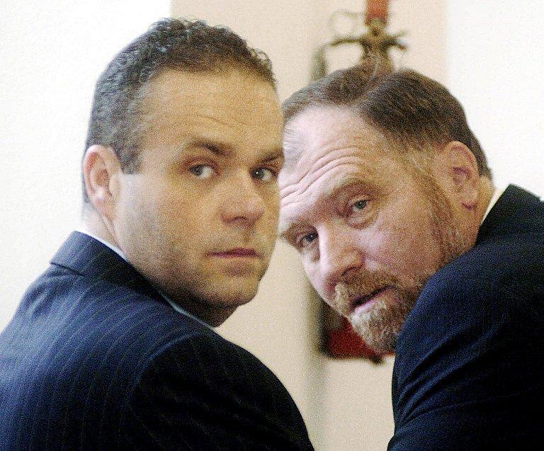 Radovan Krejčíř (vlevo) a advokát Tomáš Sokol.