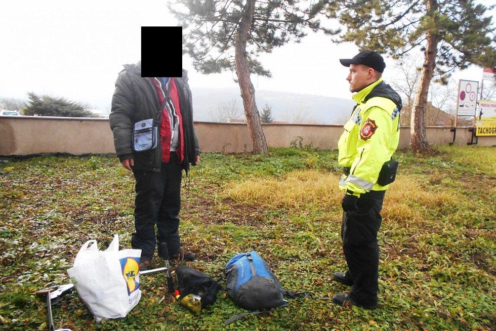 Strážníci kontrolovali lokalitu Skřivánek