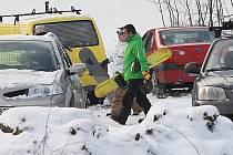 Lyžařská sezona v Malečově je v plném proudu.