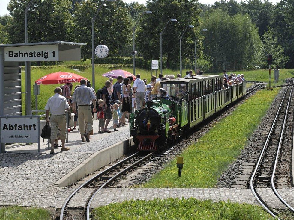 Originální malá parková železnice zahajuje 67. sezonu.