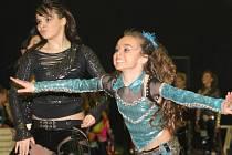 Finále Extraligy Disco dance v sportovní hale na Klíši