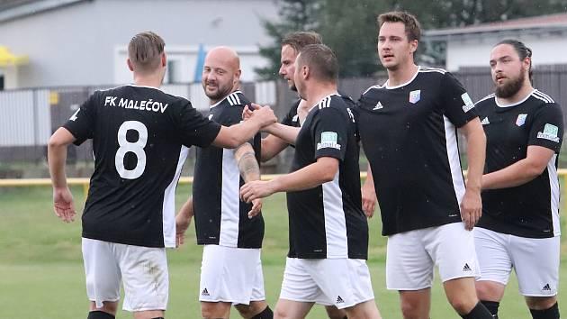 Fotbalisté Malečova