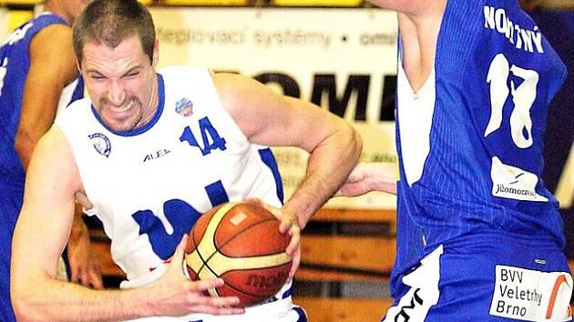 Basketbalista Tomáš Hrubý